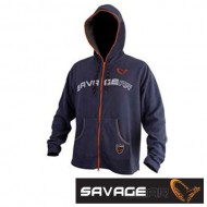 Куртка флисовая Savage Gear HOODIE JACKET Midnight Blue